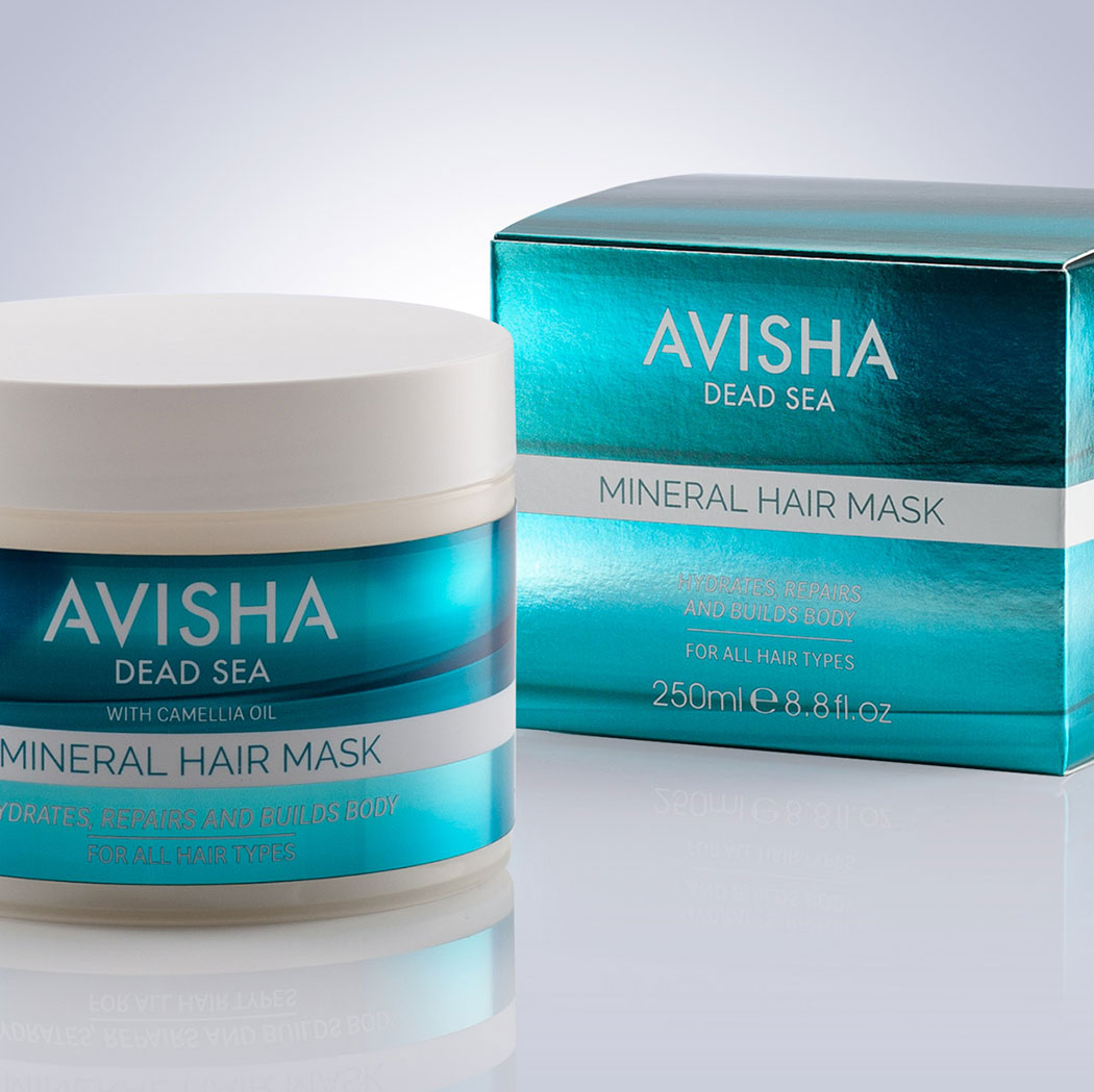 Packaging Design For Avisha Dead Sea Mineral Mask