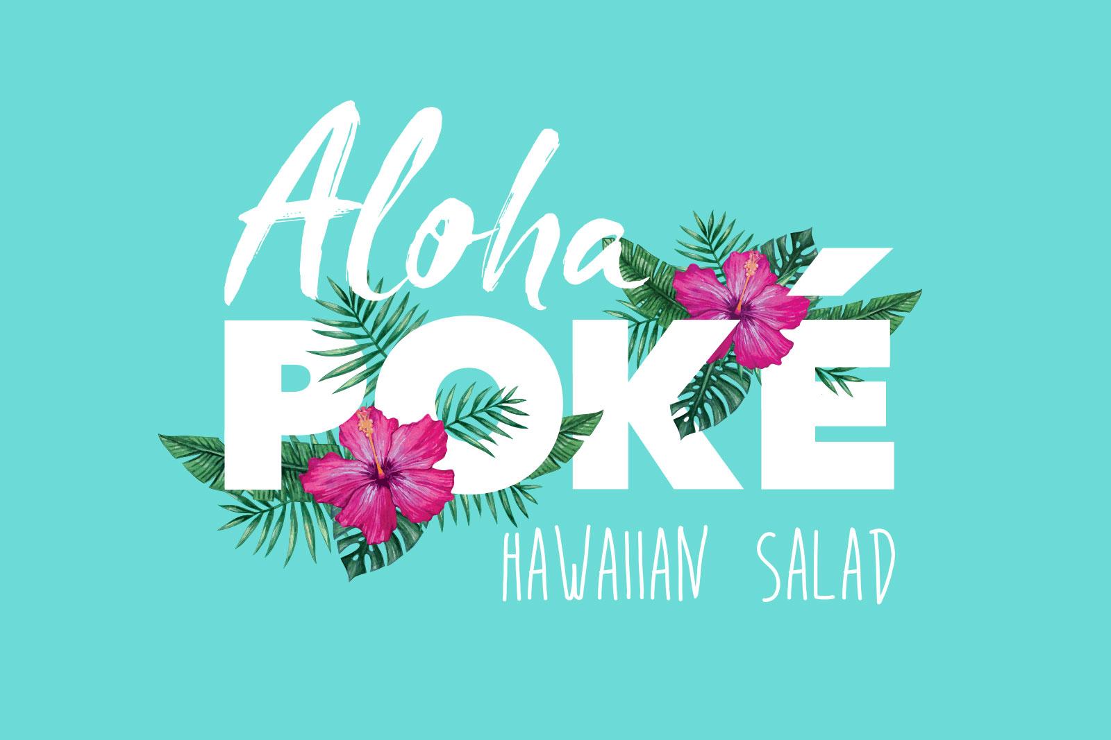 Aloha Poké Branding