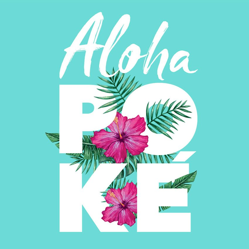 Food Branding and Packaging Design - Waitrose Aloha Poke