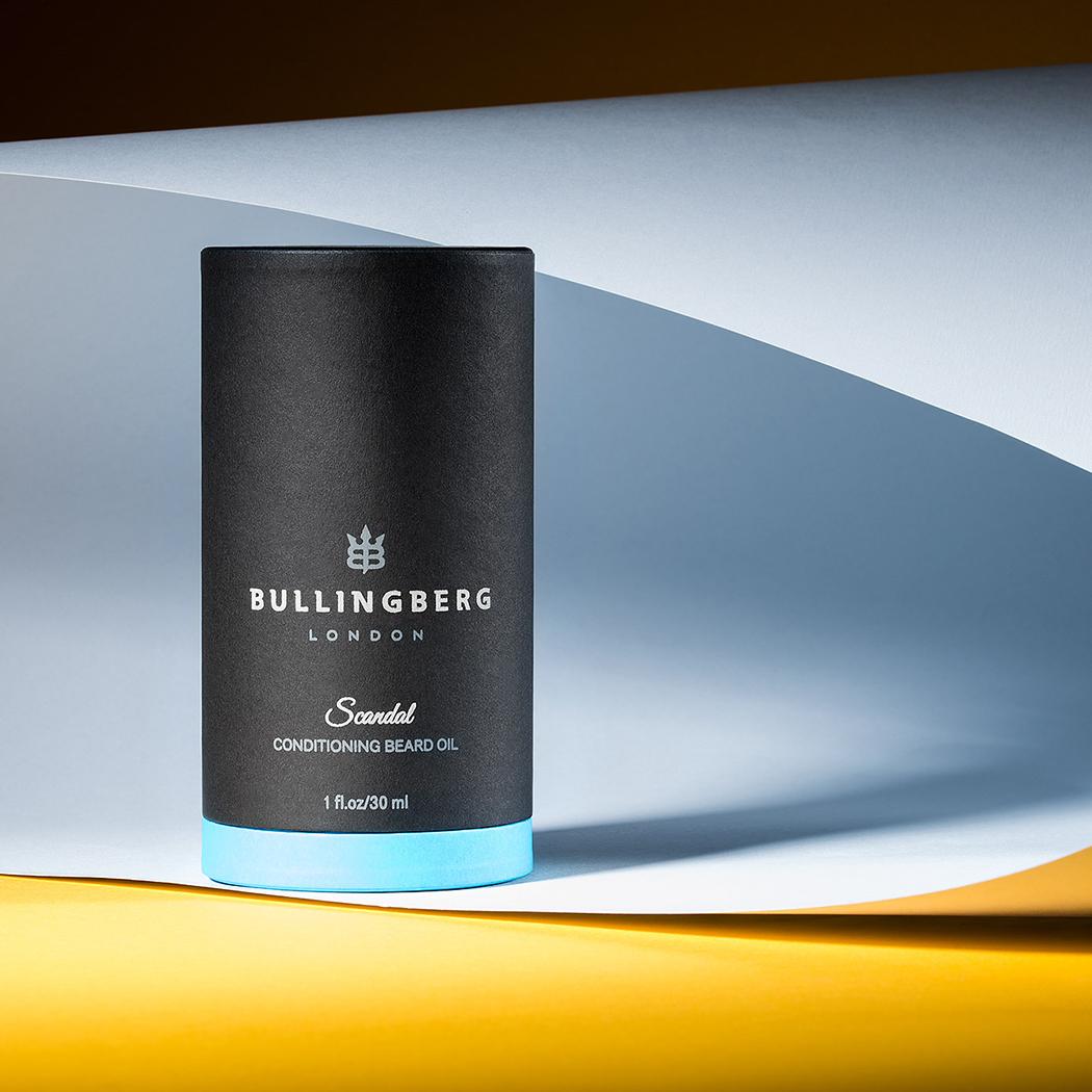 Scandal Beard Oil by Bullingberg - Creative Package Design