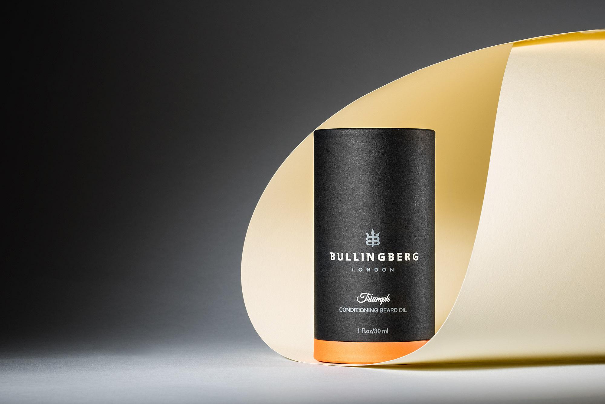 Triumph Beard Oil by Bullingberg - Creative Package Design