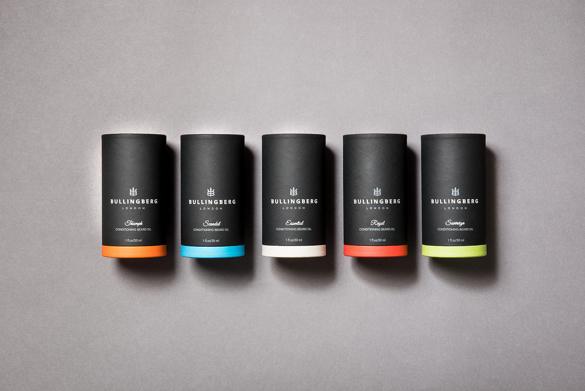 Bullingberg Beard Oils Creative Package Design
