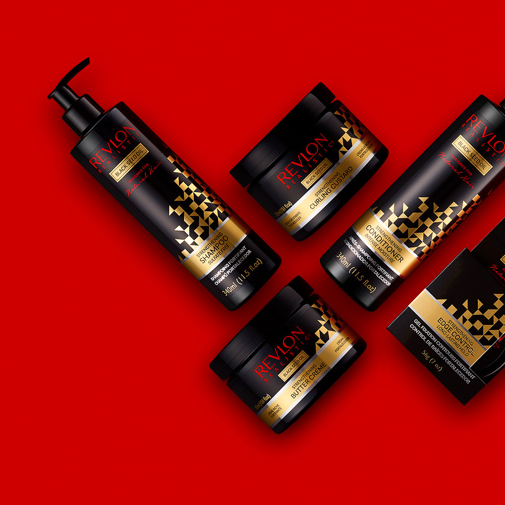 Revlon Realistic Ethnic Haircare Range by Brand Design Agency Flipflop Design