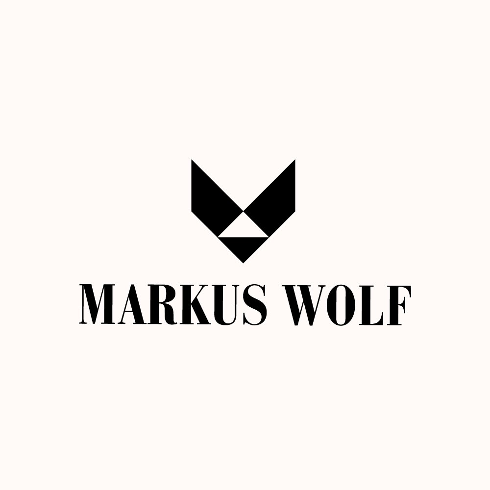 Brand Logo Design for Markus Wolf