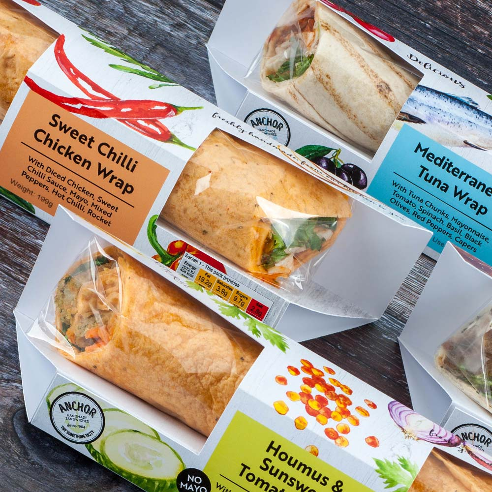 New tortilla wrap package design - Food Packaging Designers - Flipflop Design
