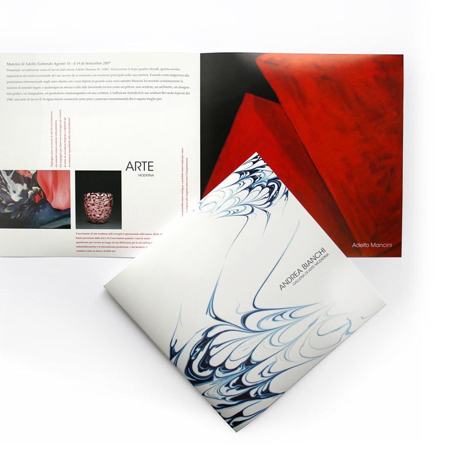 Andrea Bianchi Brochure Design