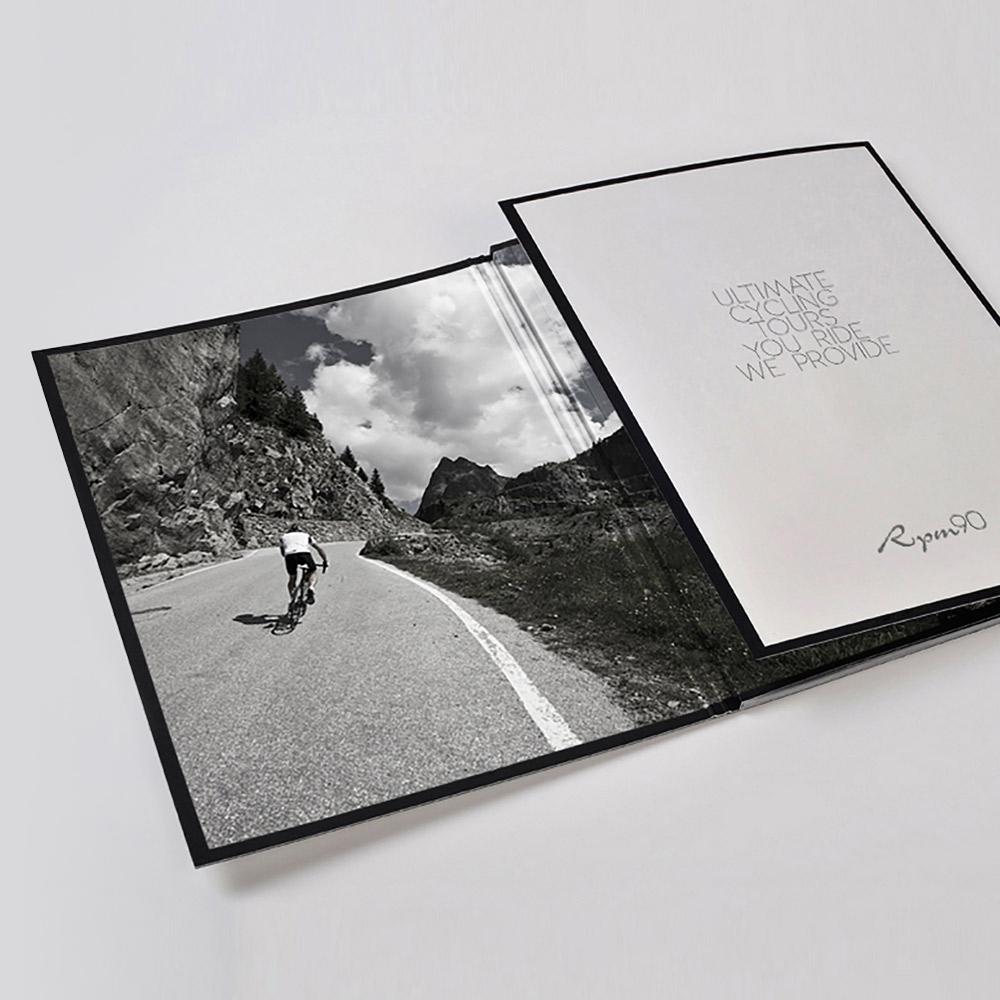 RPM90 printed brochure design