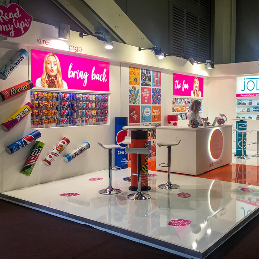 Exhibition Stand Design for Amber House