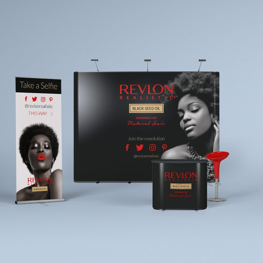 Revlon Exhibition Stand Design