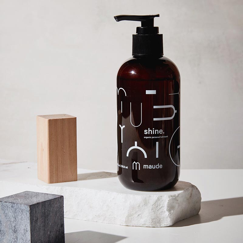 Shine by Maude - Minimalist package design